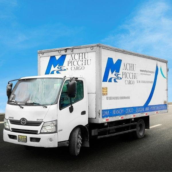 vehiculo de transporte de carga de machupicchu cargo2